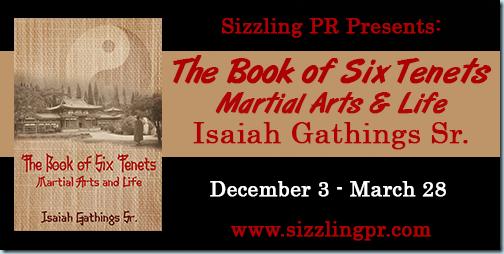 Martial arts book cover tour