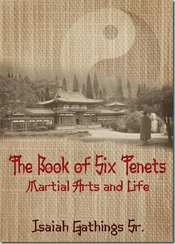 Martial arts book cover