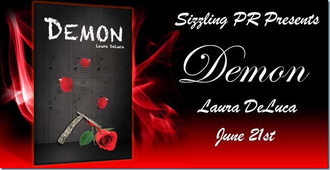 Demon - Laura DeLuca - Banner