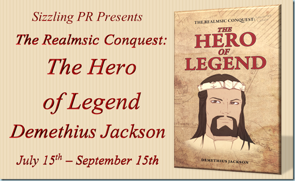 The hero of legend - Demethius Jackson - Banner