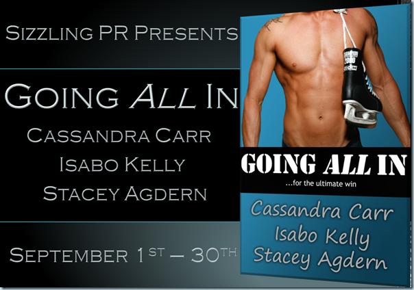 Going All In - Cassandra Carr - Banner